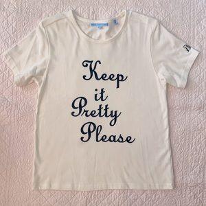 Draper James Keep it Prettty Please T-Shirt